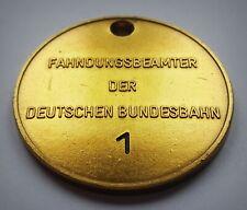 GÖDE Orden Polizeiabzeichen Sammlung Bahn - FAHNDUNGSBEAMTER Dienstmarke 1953