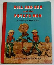 Bill and Ben and the Potato Man A Flowerpot Men Story Vintage 53 rare photoplay
