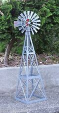 Huge Windmill Miniature 15 Inch 1/24 Scale G Scale Diorama Accessory Item
