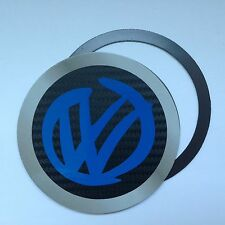 Magnetic Tax disc holder fits any volkswagen vw camper beetle polo golf up blue