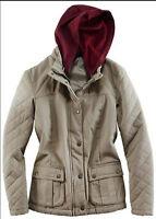 Coole Stepp-Jacke mit abnehmbarer Kapuze  Gr.36