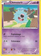 Chovsourir - N&B: Frontieres Franchies - 70/149 - Carte Pokemon Neuve Française