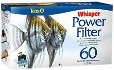 TETRA WHISPER 60 POWER FILTER 330 GPH  AQUARIUMS  to 60 GALLONS  NEW NIB
