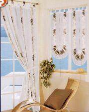 Tenda Nera per porta finestra Coppia 2 Tende PortaFinestra 60 x 230 cm NERE