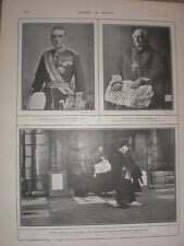 Printed photo Maunday Thursday in The Strand St Clement-the-Dane London 1902