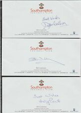 Official SOUTHAMPTON FC compliment slip signed by HARRY PENK