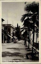 1932 Italia Italien GARDONE Riviera Strasse Cafe Kneipe alte AK Cartolina Italy