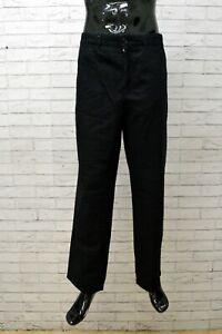Pantaloni Da Uomo Marina Yachting Taglia 56 Nero Cotone Man Pants Jeans Cotton
