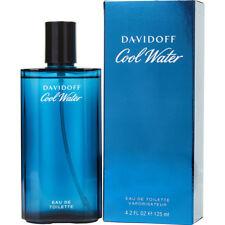 COOL WATER 125ml EAU DE TOILETTE SPRAY FOR MEN BY DAVIDOFF ----- NEW EDT PERFUME