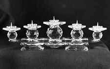Swarovski Candle Holder Pin Style (5 Pins) For Parts Or Repair