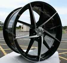"ALLOY WHEELS X 4 18"" BMF AYR 03 FOR MITSUBISHI RENAULT MEGANE 5X114 MODELS"