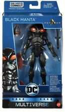 "DC Multiverse Aquaman Movie BLACK MANTA 6"" Action Figure Trench Warrior CNC NEW"