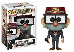 Funko Pop Vinyl Animation Gravity Falls Grunkle Stan #242 Vaulted Rare *