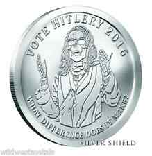 2016 1OZ Hitlery BU Oligarchy Series - Silver Shield *Get'm When You Can *RARE*