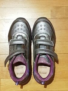 Geox Respira Sneaker Blinkerschuhe Blinkies Halbschuhe Mädchen Gr. 38 neu