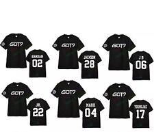 GOT7 t-shirt Jackson Mark BamBam JB Jr. Youngjae Yugyeom Kpop Apparel GOT 7