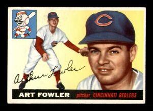 1955 Topps Set Break #3 Art Fowler VG *OBGcards*