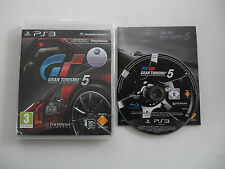 Gran Turismo 5 (PAL) Playstation 3 PS3 Sony Complete OVP CIB
