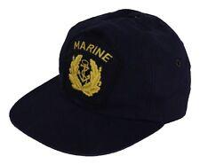 Bonnet Capitaine gr. L 60 64 Marine bordmütze ALLEMANDE BW Frégate casquette