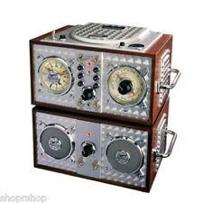 POLYCONCEPTS 841673 Spirit Of St. Louis Wooden Alarm Clock CD Radio