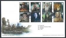 29199) UK - GREAT BRITAIN 2011 FDC Kingdom of Magic 8v