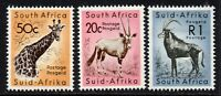 South Africa 3 High Value Stamps c1961-63 Mounted Mint Hinged (6565)