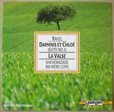 """Maurice Ravel """"La Valse, Ma Mere I'Oye, Daphnis et Chloe"""" CD 1991 (NM-)"""
