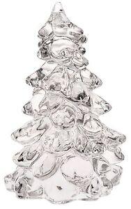 """Christmas Holiday Tree - Crystal Glass - Mosser USA - Large 8"""""""