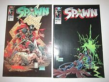 LOT OF 8 SPAWN COMIC BOOKS - 1990'S - NICE CONDITION - TUB OFC