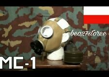 NEW RARE MC1 MILITARY RUSTED POLISH GAS MASK BARGAIN VERY CHEAP