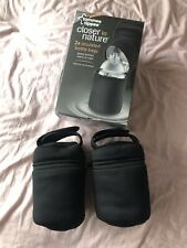2 Insulated Tommee Tippee Bottle Bags Used