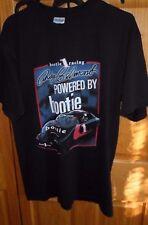 NASCAR T SHIRT ~ BLACK ~ BOOTY RACING ~ I BRAKE FOR BOOTY ~ SIZE LARGE