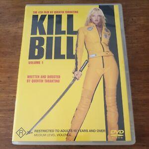 Kill Bill Volume 1 DVD R4 Like New! FREE POST