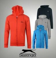 Junior Boys Branded Slazenger Fleece Lining Full Zipped Hoody Size Age 7-13