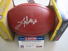 Latavius Murray Autographed NFL Football   PSA