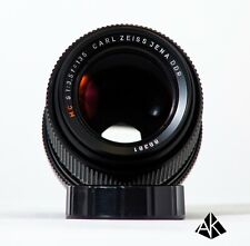 Carl Zeiss Jena DDR 135mm f/3.5; Vintage telephoto lens; Excellent condition