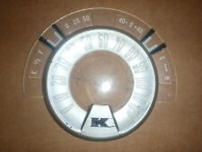 Instrument Cluster Speedometer Plastic Dial 51 52 Kaiser 1951 1952 # 207423