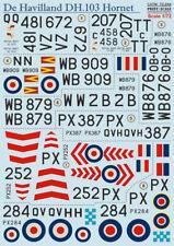 Print Scale 1/72 De Havilland dh.103 Hornet #72244