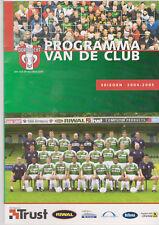 Programme / Programma FC Dordrecht v AGOVV Apeldoorn 17-12-2004