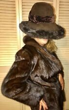 Sakowitz Genuine Ranch Mink Coat Small HAT NOT INCLUDED