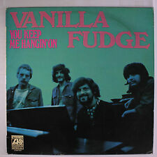 VANILLA FUDGE: You Keep Me Hangin' On LP (Netherlands, original purple/orange l