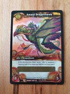 WoW TCG Mount - Drachenfalke der Amani - Amani Dragonhawk - Neu/Unbenutzt