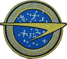 Star Trek Starfleet Space Probe Agency Badge Embroidered Patch 10cm