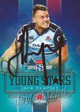 New South Wales Waratahs Original Autographed Rugby Union Trading Cards
