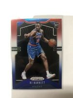 2019-20 PANINI PRIZM RJ Barrett ( NY KNICKS ) RED WHITE & BLUE PRIZM RC #250