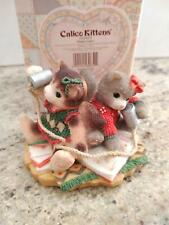 "Enesco - Calico Kittens - ""Chatty-Catty"" #546569 Nib"