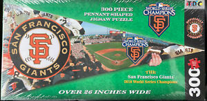 San Francisco Giants and AT&T Park 2010 World Series Pennant Puzzle 300 Piece