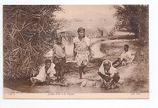 AFRIQUE scenes types ethnies missions Ethnics jeunes filles à la Séguia
