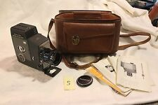 Vintage Yashica 8 U-Matic S Camera With Manual And Carry Bag