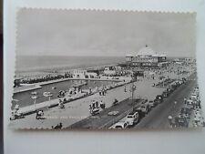 Vintage Real Photo Postcard Promenade and Pavilion, Rhyl Franked & Stamped 1960